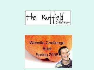 Website Challenge  Brief  Spring 2008