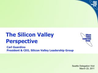 The Silicon Valley Perspective