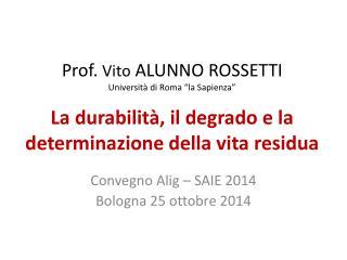 Convegno  Alig  – SAIE 2014 Bologna 25 ottobre 2014