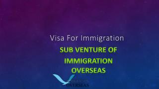 Avail immigration services for Canada