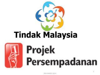 TINDAK MALAYSIA (TM ) CADANGAN PERSEMPADANAN SEMULA