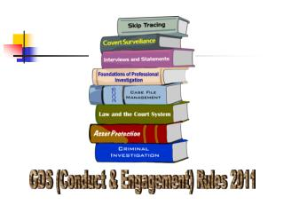 GDS (Conduct & Engagement) Rules 2011