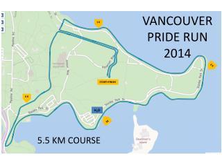 VANCOUVER PRIDE RUN 2014