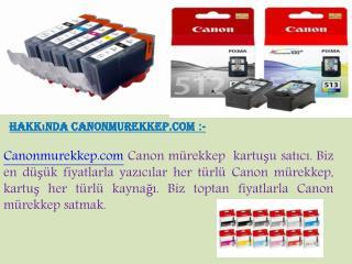 Nerede Canon mürekkep kartuşu satın alabilirsiniz