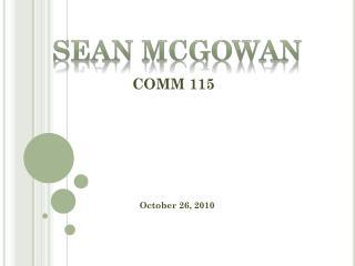 COMM 115