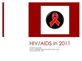 HIV/AIDS in 2011