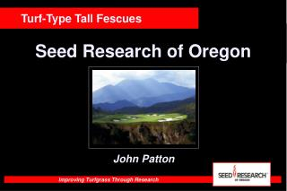 Seed Research of Oregon