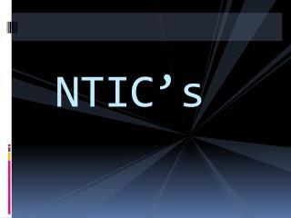 NTIC's
