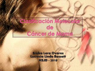 Clasificaci n Molecular  de C ncer de Mama