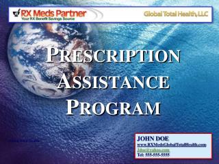 Prescription  Assistance  Program