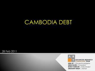 CAMBODIA DEBT
