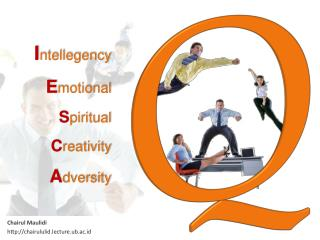I ntellegency E motional S piritual C reativity A dversity