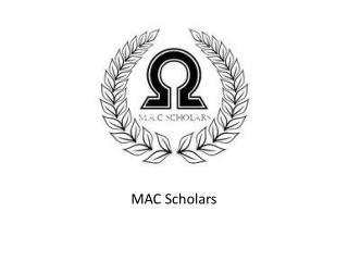 MAC Scholars
