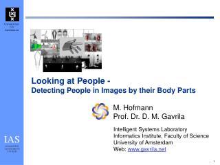 M. Hofmann Prof. Dr. D. M. Gavrila