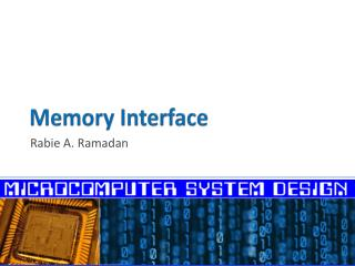 Memory Interface