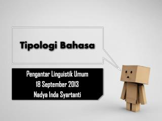 Tipologi Bahasa