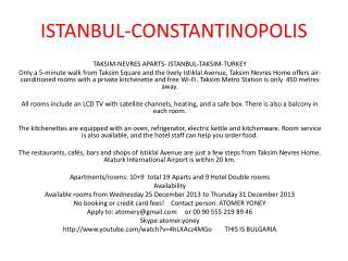 ISTANBUL-CONSTANTINOPOLIS