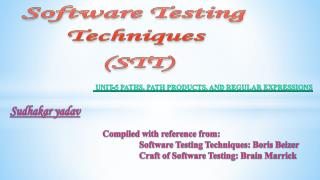 Software Testing Techniques (STT)
