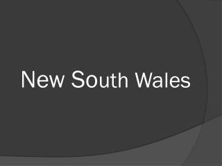 New So uth Wales