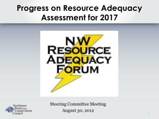 Progress on Resource Adequacy Assessment for 2017