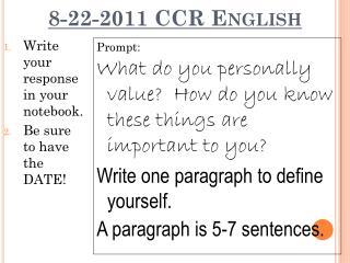 8-22-2011  CCR English