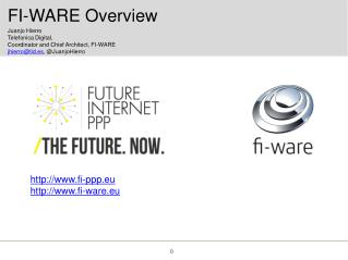 FI-WARE Overview