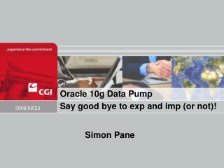 Oracle 10g Data Pump Say good bye to exp and imp (or not)!
