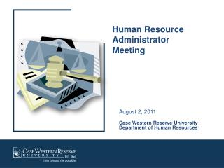 Human Resource Administrator Meeting