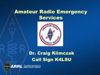 Amateur Radio Emergency Services