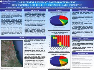 CARBAPENEM  RESISTANT   ENTEROBACTERIACEAE :