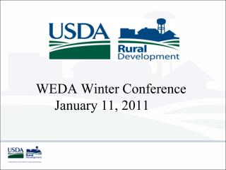 WEDA Winter Conference January 11, 2011