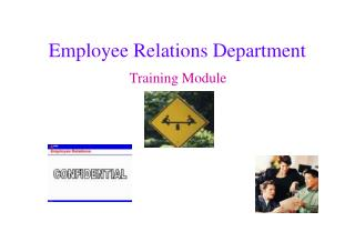 Employee Relations Department