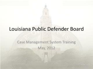 Louisiana Public Defender Board
