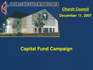 Church Council December 11, 2007