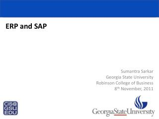 ERP and SAP