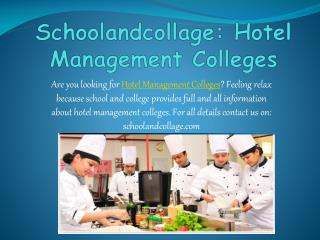 Find all details of colleges