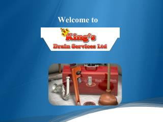 Welcome to King's Drain Services Ltd