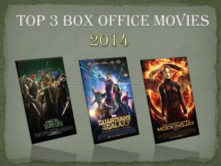 Top 3 Box Office Movies