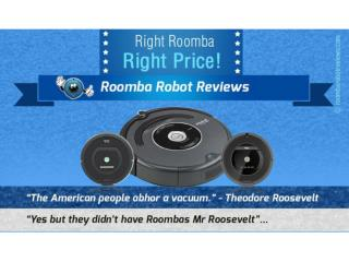 An Infographic on How to Choose the Right Roomba Robot