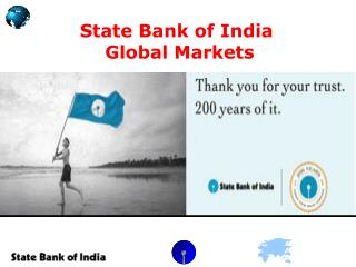 State Bank of India   Global Markets