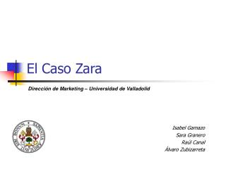 El Caso Zara