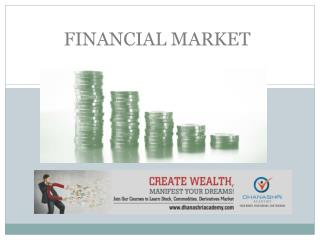 Introduction of Financial Market