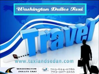 Washington Dulles taxi promote Super Airport shuttling servi