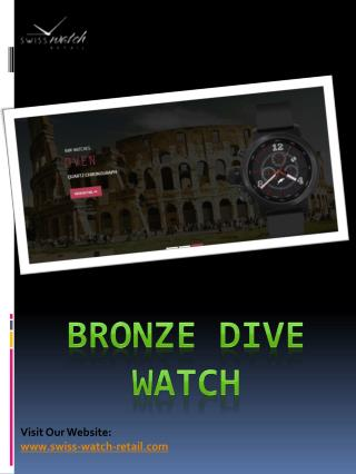 Bronze Dive Watch