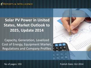 Reports and Intelligence: Solar PV Power Market- 2025