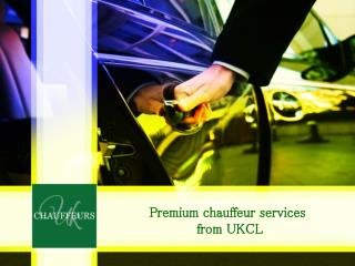 Premium car service in London