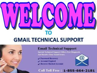 Contact Gmail Password Recovery 1-855-664-2181