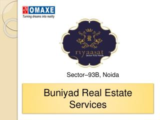 Omaxe Riyasat High Rise Apartments in Noida