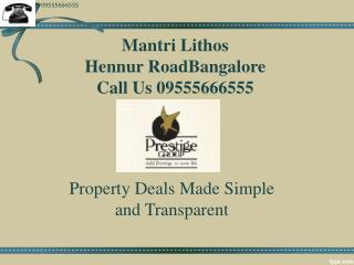 Mantri Lithos Hebbal Bangalore