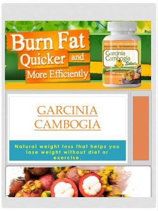 Buy Garcinia Cambogia